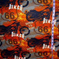 Flannel fabric with flames motorcycle from Connie's Quilt Fabrics & Flannel fabric with flames motorcycle Route 66 biker cotton quilt quilting  sewing material to sew by Adamdwight.com