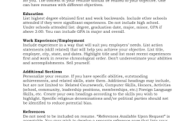 Resume Examples With References Medium Size Of Resumeresume