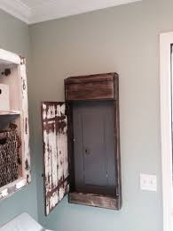 best 25 electric box ideas on pinterest electrical breaker box Electrical Fuse And Breaker Box Wall Unit my hubby made this sweet distressed door cover for the electrical panel in our laundry room