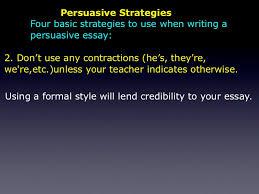the persuasive essay 45