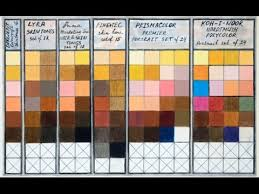 Colored Pencils Skin Tones Chart Combinations Portrait Sets Prismacolor Derwent Lyra Koh I Noor