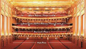 Modell Pac At The Lyric Seating Chart 51 Systematic Lyric Theater Nyc Seating View