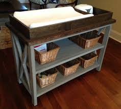 diy baby furniture. Plain Diy Rustic X Changing Table  Feature Inside Diy Baby Furniture N