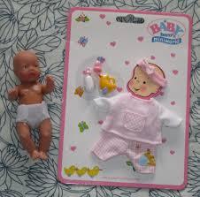 <b>Zapf Creation</b> Baby born miniworld Puppe + Bekleidungsset ...