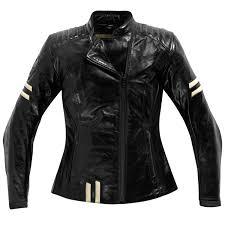 difi las she devil leather jacket black gold thumb 0