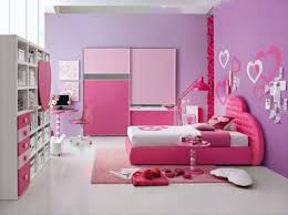 bedroom wall ideas for teenage girls. Teen Girls Bedroom Ideas With Pink And Purple Color For Wall Teenage