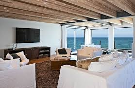 seaside home interiors. interior models home with sensational beach view: beautiful view of the ocean from matthew perrys seaside interiors