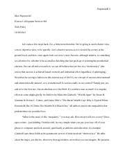 the lottery point of view essay the lottery point of view essay  3 pages colloquium essay 4