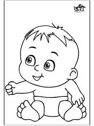 Baby 13 Kleurplaten Baby