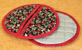 Nancy Zieman/Donna Fenske/Sew Quilted Potholders | Nancy Zieman ... & Potholder Nancy Notions Nancy Zieman Adamdwight.com