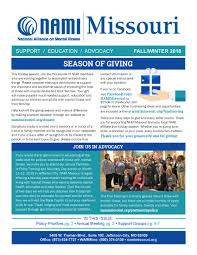 Newsletter Cover Letter Nami Missouri Fall_winter 2018 Newsletter Cover Page Nami