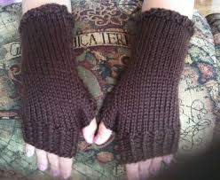 Free Fingerless Gloves Knitting Pattern Gorgeous How To Knit Closefitting Fingerless Gloves 48 Steps With Pictures