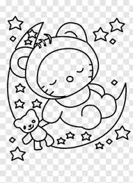 Coloring pages for hello kitty are available below. Hello Kitty Head Hello Kitty Sleeping Coloring Pages Png Download 700x961 8195471 Png Image Pngjoy