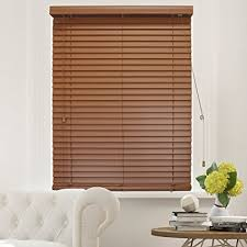 wood blinds.  Wood Chicology Faux Wood Blinds  Window Horizontal 2inch Venetian Slat  Wood With O