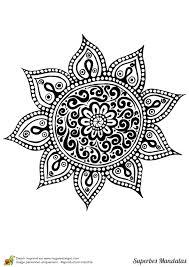 Coloriage D Un Mandala Attrape R Ve C Ur