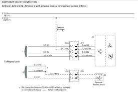 eberspacher d easystart select air heater wiring