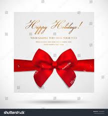 Holiday Gift Card Template Holiday Card Christmas Card Birthday Card Stock Vector Royalty Free