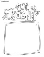 Teacher Appreciation Week Printables Classroom Doodles