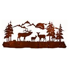 6 Hook Coat Rack Elk Family 100 Hook Coat Rack 85