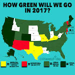 weed legal in what states 2017