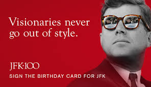 profile in courage essay contest john f kennedy presidential sign the birthday card for jfk
