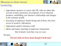 Legal Regime For Aml (Anti Money Laundering) - Ppt Download