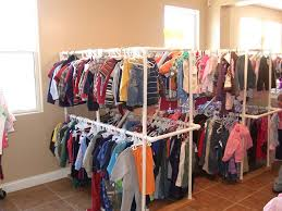 another option for hanging clothes worried that pvc pipe won t hold much though diy clothes rack