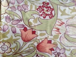 art nouveau golden lily william morris