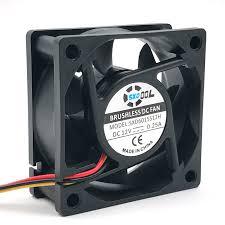 online get cheap 12v computer fan wiring aliexpress com alibaba sxdool 6025 silent fan 12v dc 60mm 60x60x25 mm sleeve 12v 0 18a 3 wire lead