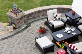 build brick paving patio in 9 steps