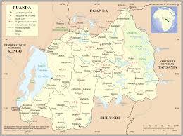 Landkarte Ruanda (Übersichtskarte) : Weltkarte.com - Karten und Stadtpläne  der Welt