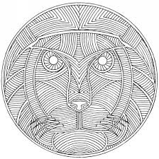 Small Picture Adult coloring page africa Lion 7