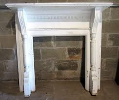 walnut fireplace mantel with carved columns fireplace1
