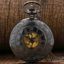 vintage pocket watch reviews online shopping vintage pocket black gray r dial quartz vintage antique pocket watch necklace watches chain p413