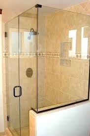frameless glass shower door installation custom bathroom