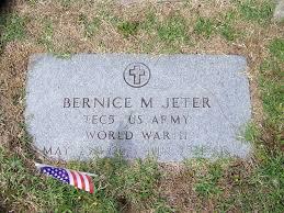 Bernice Maynard Jeter (1922-1980) - Find A Grave Memorial