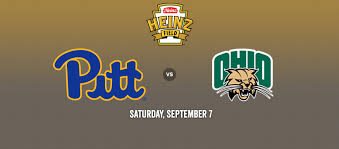 Pitt Panthers Vs Ohio Bobcats Heinz Field In Pittsburgh Pa