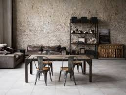 industrial home decor with table brick wall tall ceilings and storage industrial l71