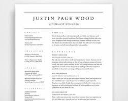 Modern Simple Resume Template Modern Clean Resume Zlatan Fontanacountryinn Com