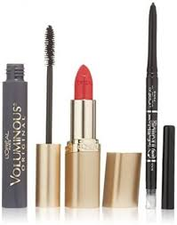 l oreal paris icons makeup kit with voluminous maa infallible liner and