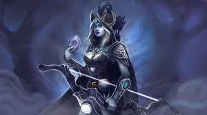 dota 2 drow ranger archers warriors fantasy games masks