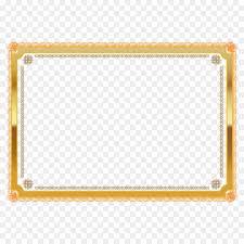gold frame border png. Simple Border Png Vector Gold Award Winning Border Decoration For Frame