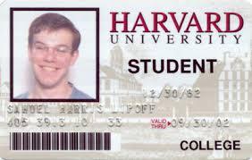 School Id Template Harvard Id Novelty Fake Id Card Template Student International