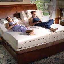 adjustable bed frame with massage. Exellent Bed TempurPedic Adjustable Foundation With Therapeutic Massage Enlarge In Bed Frame With C