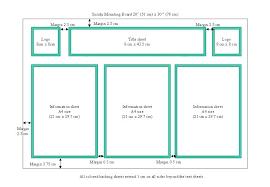 Tri Fold Poster Board Dimensions Mini Corrugated Fold Display Board