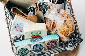 the ultimate cheese board gift basket plays well with er