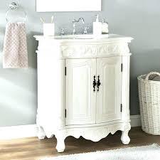 27 inch bathroom vanity single set