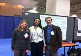 Jackson State University (JSU) Civil engineering senior student, Ivy Riley,  attended the 2015 TRB annual meeting. Ivy presented