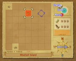 Zelda Wind Waker Sea Chart Map Ice Ring Isle Wind Waker Map Foto Ring And Wallpaper