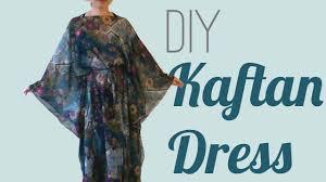 Easy Diy Kaftan Dress Cover Up Youtube